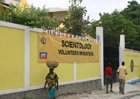 The new Scientology Volunteer Minister headquarters in Haiti.