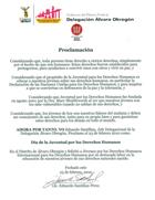 Mexico, proklamation af Unge for Menneskerettigheders Dag