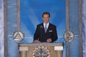 Mr. David Miscavige, Chairman of the Board of Religious Technology Center and ecclesiastical leader of the Scientology religion, presided over the dedication of the new Church of Scientology & Celebrity Centre Las Vegas.