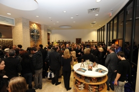After the ribbon was cut on the fully renovated building at 2761 Emerson Avenue, Scientologists and guests toured the new Church of Scientology & Celebrity Centre Las Vegas.