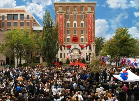 On October 31, 2009, three thousand Scientologists and guests attended the dedication and opening of the new Founding Church. The structure was fully restored as one of Washington's premiere historical sites.