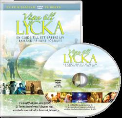 Dvd:n med Vägen till lycka-filmen