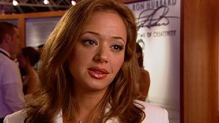 Leah Remini at the Celebrity Centre International Annual Galain2001.