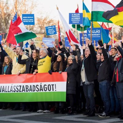 Hungary: 'We Want Religious Freedom!'