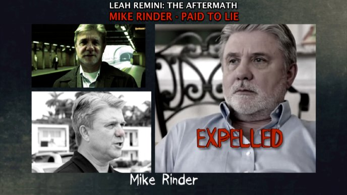 Mike Rinder—Paid to Lie
