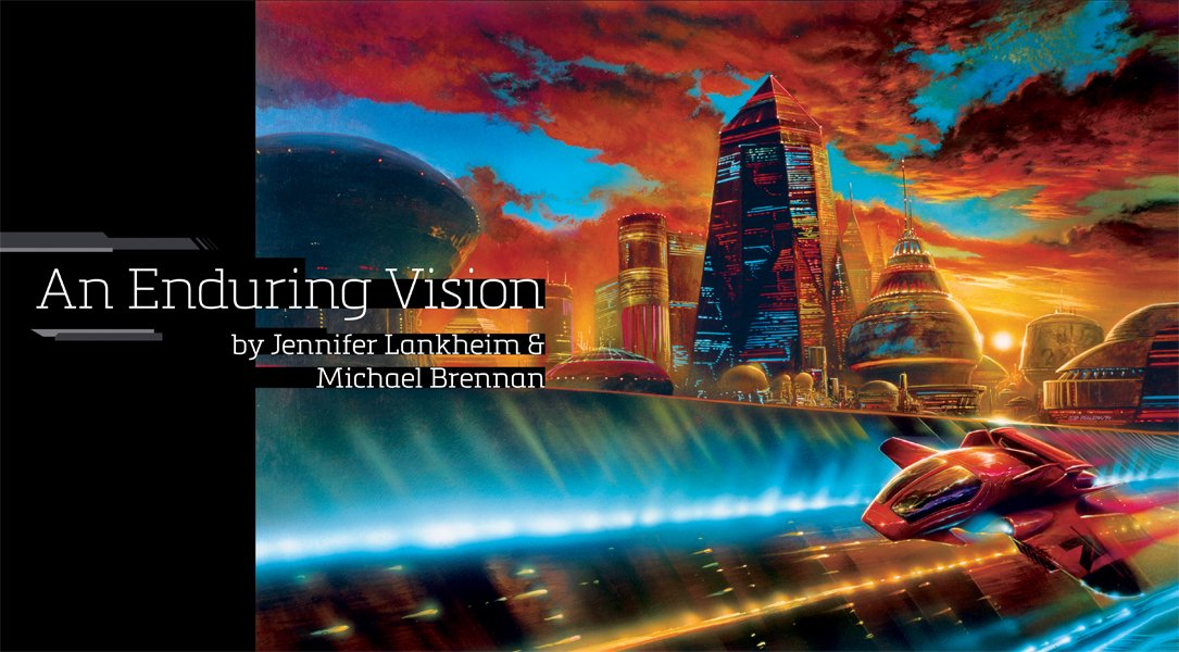 An Enduring Vision. Writers and Illustrators of the Future 2015