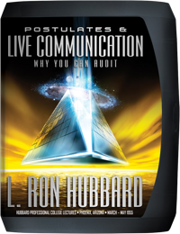 Postulates and Live Communication, Compact Disc