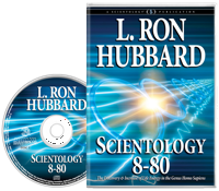 Scientology 8-80, Audiobook CD