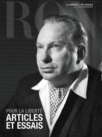 Pour la liberté : articles et essais, Livre relié