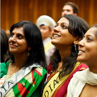 Youth for Human Rights delegates from India