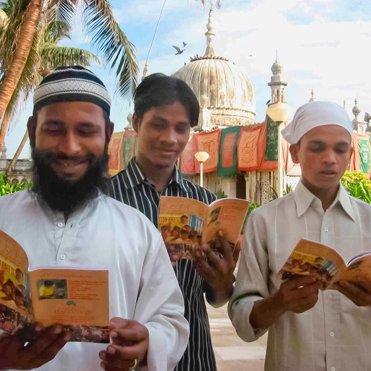The Way to Happiness Booklets distribution in Pakistan