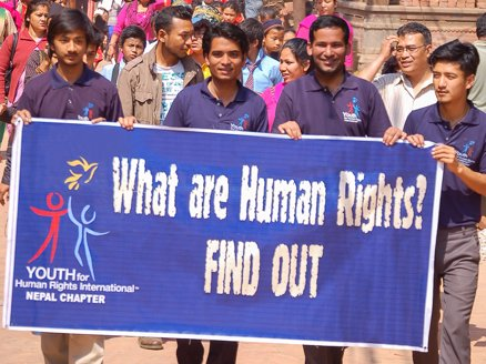 Human Rights March in Nepal