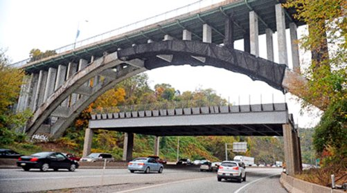 Pittsburg's Greenfield Bridge