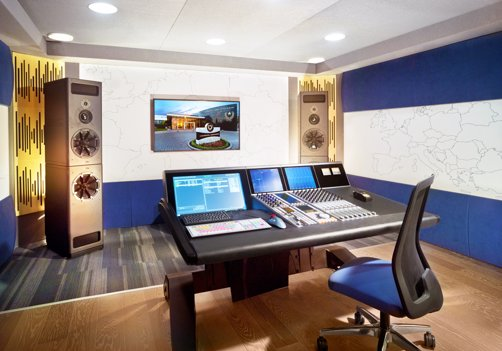 State-of-the-art studios for producing audiovisual materials