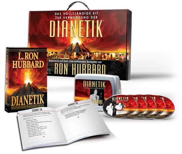 Das vollständige Kit zur Verwendung der Dianetik