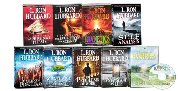 Paket der einführenden Dianetics- und Scientology-Bücher und -Hörbücher