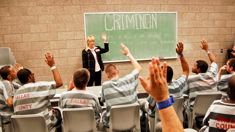 Criminon program delivered in onsite class
