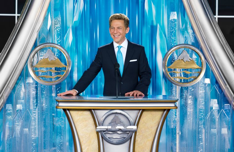 Mr. David Miscavige dedicated the Flag Building on November 17, 2013